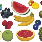 Fruit Wall Decal Assortment Packs
