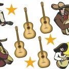 Guitar Wall Decal Assortment Packs