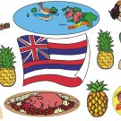 Hawaii Wall Decal Assortment Packs
