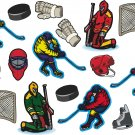 Hockey Wall Decal Assortment Packs