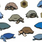 Turtles Impressionistic Wall Decal Assortment Packs