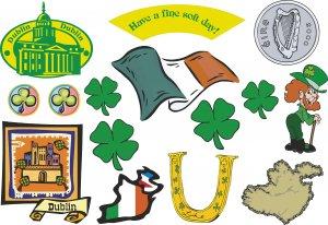 Irish Wall Decal Assortment Packs