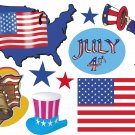 July 4th Wall Decal Assortment Packs