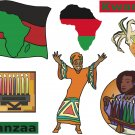 Kwanzaa Wall Decal Assortment Packs