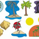 Palm Trees Wall Decal Assortment Packs