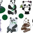 Panda Wall Decal Assortment Packs