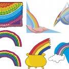 Rainbow Wall Decal Assortment Packs