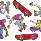 Skateboarders Wall Decal Assortment Packs