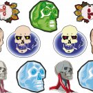 Skulls Wall Decal Assortment Packs