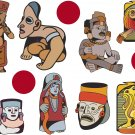 Tribal Wall Decal Assortment Packs
