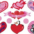 Valentine's Day Wall Decal Assortment Packs