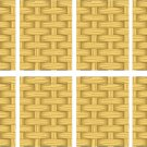 Basket Weave Wall Decal Pattern Assortment Packs