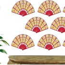 Fan Pattern Wall Decal Pattern Assortment Packs