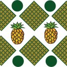 Pineapple Wall Decal Pattern Assortment Packs