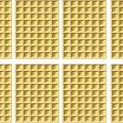 Waffle Wall Decal Pattern Assortment Packs