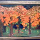 Forest in Orange