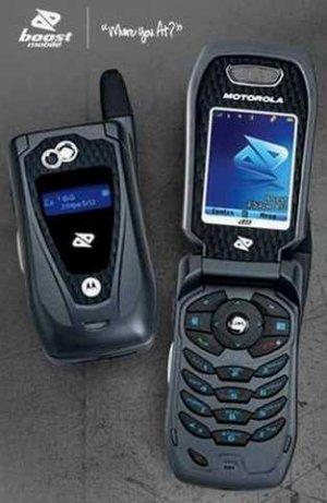 Motorola i855 Brand New for Boost Mobile UNLOCKED