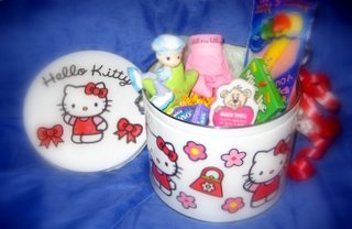 Medium Hello Kitty Gift Can