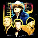 U2 BLACK THE BEST ROCK TEE T SHIRT BAND Size XL / D88
