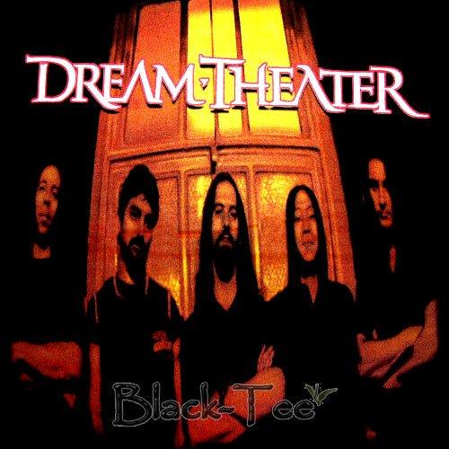 DREAM THEATER BLACK METAL TEE T SHIRT Size L / E84