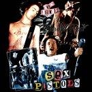 SEX PISTOLS BLACK PUNK ROCK TEE T SHIRT Size XL / E77
