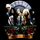 GUNS N ROSES BLACK ROCK TEE T SHIRT Size S / D67