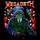 MEGADETH BLACK HEAVY METAL TEE T SHIRT SIZE XL / D71