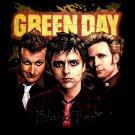 GREEN DAY BLACK TEE PUNK ROCK T SHIRT SIZE L / D75