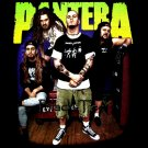PANTERA BLACK TEE BAND HEAVY METAL T SHIRT SIZE L / D81