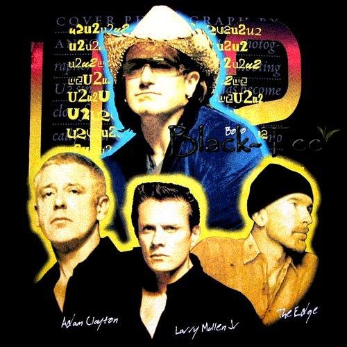 U2 BLACK ROCK TEE T SHIRT BAND SIZE L / D88