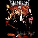 METALLICA BLACK HEAVY METAL TEE T SHIRT BAND SIZE M / E38
