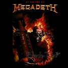 MEGADETH BLACK HEAVY METAL TEE T SHIRT Size L / D23