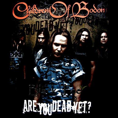 CHILDREN OF BODOM METAL T SHIRT R U DEAD YET? Size L / D66