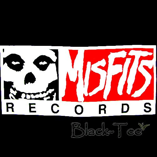 MISFITS RECORDS PUNK T SHIRT HORROR ROCK SIZE L / F43
