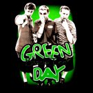 GREEN DAY BLACK PUNK ROCK TEE T SHIRT SIZE XL / D74
