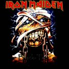 IRON MAIDEN HEAVY METAL TEE T SHIRT SIZE M / E28