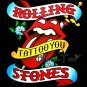 THE ROLLING STONES TEE T SHIRT TATTOO YOU SIZE L / E71