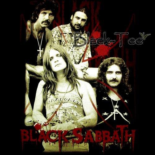 BLACK SABBATH BLACK TEE T SHIRT BAND SIZE M / E92