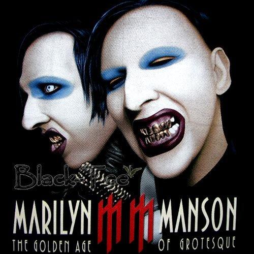 MARILYN MANSON SHOCK ROCK TEE T SHIRT SIZE L / F00