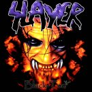 SLAYER BLACK HEAVY METAL TEE T SHIRT SIZE XL / F11