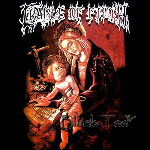CRADLE OF FILTH HEAVY METAL TEE T SHIRT SIZE L / F15