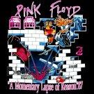 PINK FLOYD ROCK TEE T SHIRT BLACK TOP SIZE L / F25