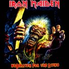 IRON MAIDEN HEAVY METAL TEE T SHIRT BLACK SIZE S / F32