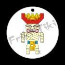FRIKI-TIKI   Mummi-Tiki   Porcelain Christmas Ornament - NEW Collectible