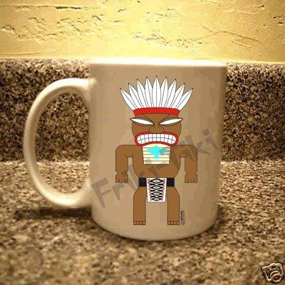 FRIKI-TIKI   Tonto-Tiki   11oz Ceramic Coffee Mug - NEW Collectible