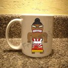 FRIKI-TIKI   Sumo-Tiki   11oz Ceramic Coffee Mug - NEW Collectible