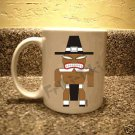 FRIKI-TIKI   Pilgrim-Tiki   11oz Ceramic Coffee Mug - NEW Collectible