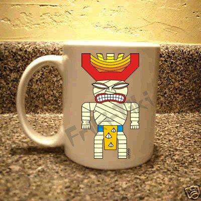 FRIKI-TIKI   Mummy-Tiki   11oz Ceramic Coffee Mug - NEW Collectible