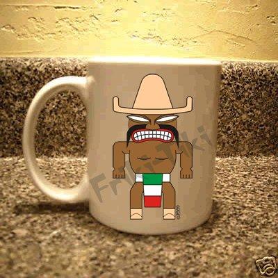 FRIKI-TIKI   Mexi-Tiki   11oz Ceramic Coffee Mug - NEW Collectible