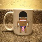 FRIKI-TIKI   Brit-Tiki   11oz Ceramic Coffee Mug - NEW Collectible